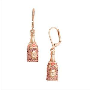 Kate Spade Make Magic Champagne Earrings